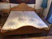Echtholz Pinie geichtes Landhausstil Schlafzimmer