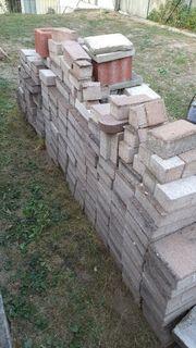 Pflastersteine Mauersteine versch Ausführungen