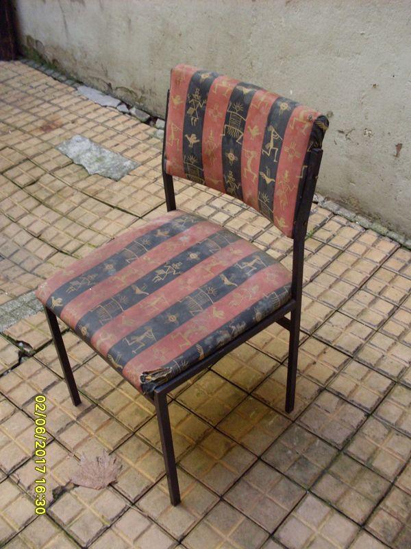 Stuhl Stuhle Metallstuhl Metallstuhle Stuhl Mit Metallfussen In