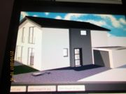 Haus Neubau in