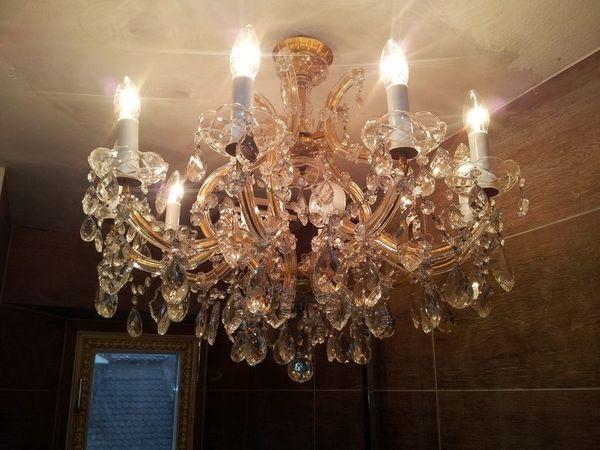 Kronleuchter Antik Frankfurt ~ Kristall luster günstig gebraucht kaufen kristall luster verkaufen