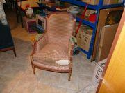 Sessel massiv Holz guter Zustand