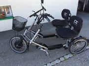 Fahrrad DUO Pedelec mit Motor