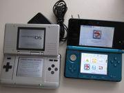 Nintendo 3DS türkisblau und Nintendo