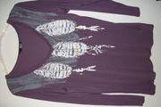 Shirt Langarm lila