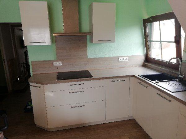 Gebrauchte Hochglanz Küche zu verkaufen in Volkach - Küchenzeilen ...