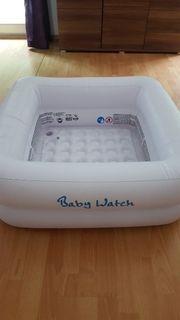 aufblasbare babybadewanne