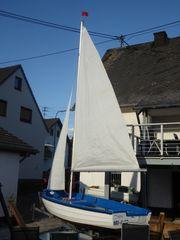 Rügenjolle Kombiboot Jolle Segelboot 5