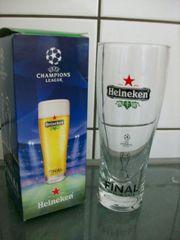 Heineken 6 Gläser