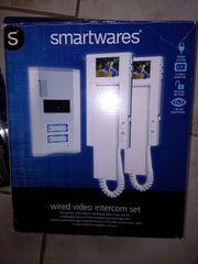Video-Türsprechanlage Kabelgebunden Komplett-Set Smartwares VD62