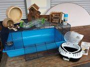Grosser Hamster-Kleintierkäfig