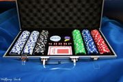 Alu - Pokerkoffer mit