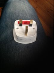 England stecker adapter