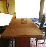 Esszimmertisch Wohnzimmer Tisch Holz edel