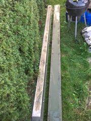 Alu Kufen Aluminium Auffahrrampe Holzlagerung