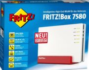 Neuwertige Fritzbox 7580 OVP