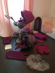 Stokke Xplory Purple kinderwagen
