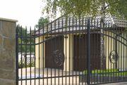 Schmiedezaun Eisenzaun und nostalgischer Zaun