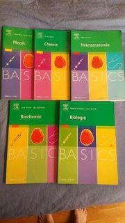 BASICS Bücher Medizin Physik Chemie