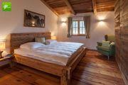 Betten aus Altholz