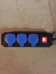 Steckdosenverteiler 3 er IP 44