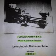 Drehmaschine/Drehbank Haager