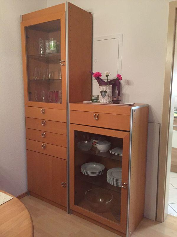 Esszimmer schr nke vitrinen gebraucht kaufen nur 3 st for Schrank quoka