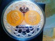 Sammlermünze/Medalllie Willhelm