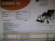 Rollstuhl Handicare Exigo 10 Rollator