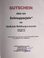 Gutschein Jahresmitgliedschaft im Golfclub Rehburg-Loccum