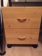 Verkaufe Holz-Rollcontainer