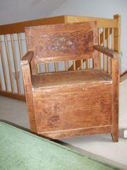 alte Truhe - Sitz