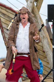 Pirat Kapitän Flunker Piratenspektakel Hafenfest