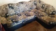 Couch Blau L-