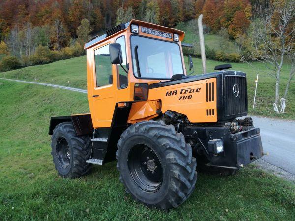 mb trac 700 turbo in mellau traktoren. Black Bedroom Furniture Sets. Home Design Ideas