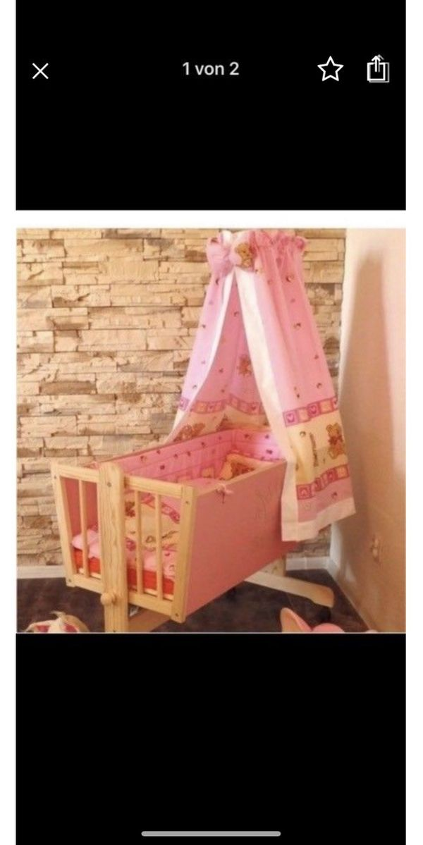babywiege kaufen babywiege gebraucht. Black Bedroom Furniture Sets. Home Design Ideas