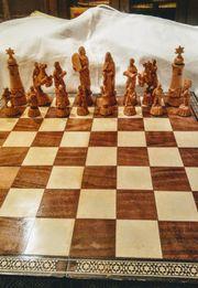 Schachfiguren Biblische Gestalten