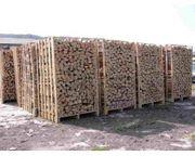 Sehr trockene Brennholz und harte
