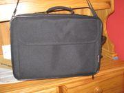 schwarze Laptoptasche