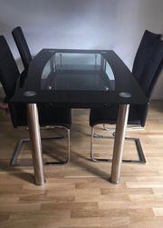 Esstisch glas schwarz glitzer  Esstisch Glas in München - Haushalt & Möbel - gebraucht und neu ...