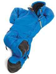 Blauer Ganzkörper- Schlafsack von musuc
