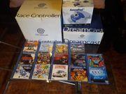Sega Dreamcast mit viel Zubehör