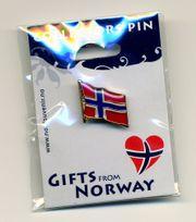 Norwegen Flaggenpin,Norway,