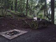 Wochenendgrundstück mit Hütte