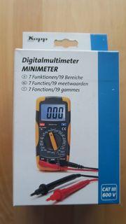 Kopp Digitalmultimeter Minimeter Cat III