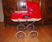 Puppenwagen -Kinderwagen aus den 60er