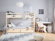 Etagenbett Holz Gebraucht : Kinder etagenbett mit treppe ikea fur rutsche szenisch