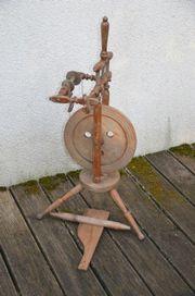 Spinnrad antik restaurierungsbedürftig tolle Deko