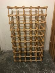 Weinregal Holz