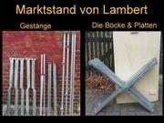 Marktstand Verkaufsstand 5m von Lambert